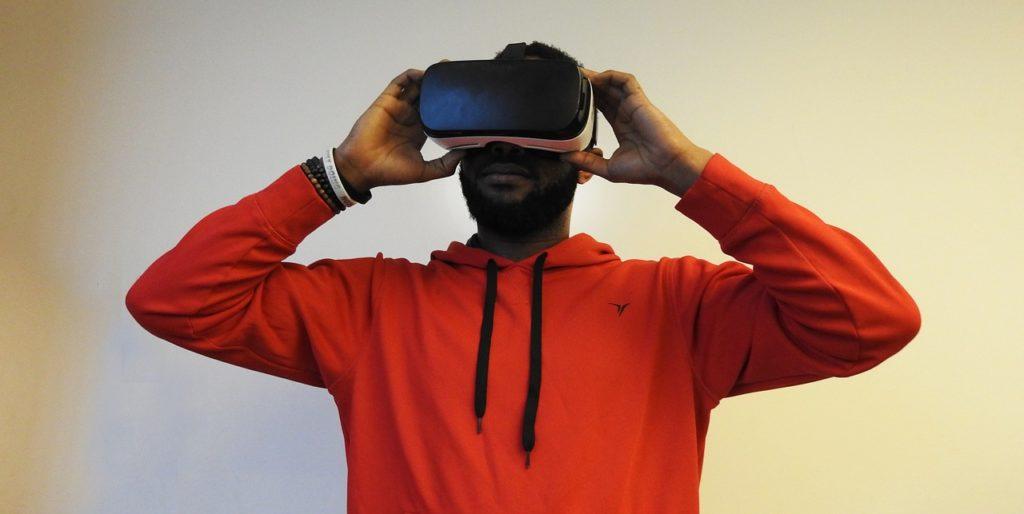 Auch das Sichtfeld wurde bei dem VR Brille Test überprüft